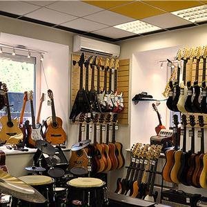Музыкальные магазины Североморска